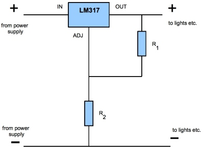 ledfantastic the knowledge advanced lm317 as a voltage regulator