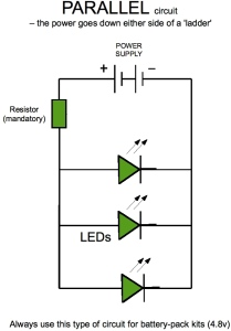 parallel circuit diagram led automotive wiring diagram u2022 rh nfluencer co Multiple LED Circuit 12 Volt LED Light Circuit