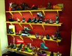Ruby Shoesday display